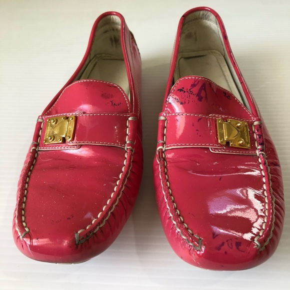 b389a9b74996 ... Louis Vuitton LOMBOK Patent Leather Loafer